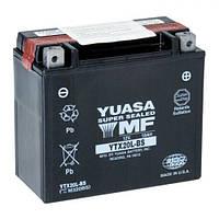 Мото аккумулятор YUASA YTX20L-BS 18 А/ч, 270 А, (-/+), 175х87х155 мм