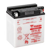 Мото аккумулятор YUASA YB10L-B2 11А/ч,160 А, 135/90/145мм