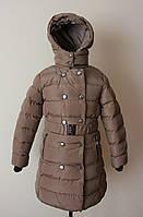 Зимняя куртка на девочку от 6-8 лет