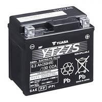 YTZ7S YUASA Мото аккумулятор 6,3 А/ч, 130 А, (-/+), 113/70/105мм