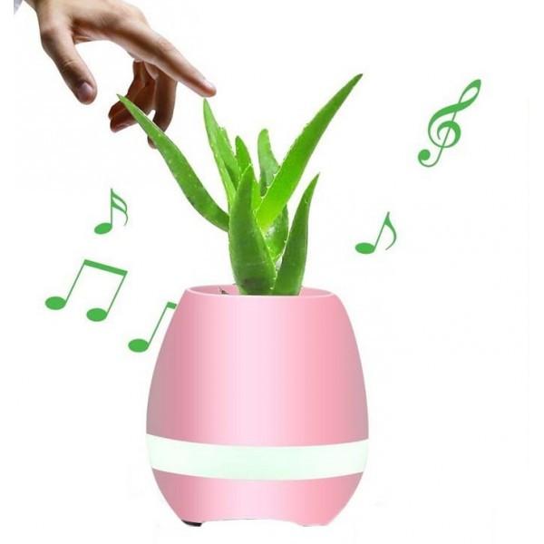 Музыкальная колонка Bluetooth Smart Music Flowerpot  - музыкальный цветочный горшок