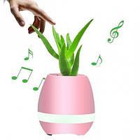Музыкальная колонка Bluetooth Smart Music Flowerpot  - музыкальный цветочный горшок, фото 1
