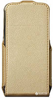Чехол книжка RED POINT BRAVIS A506 Crystal - Flip case (Gold)