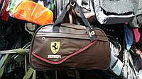 Дорожная сумка Ferrari кож зам