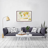 Скретч карта мира Geography World