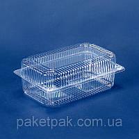 Пищевой контейнер 230x130x87 мм, V=1700 мл (ящик 500 шт)
