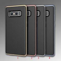 Чехол бампер Carbon для Samsung Galaxy Note 8 (4 цвета)