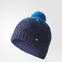 Вязаная теплая шапка Adidas Fleece Woolly CD6241