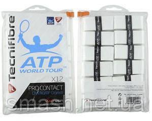 Намотки для Тенниса Tecnifibre Pro Contact overgrip x12