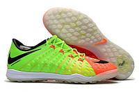 Футбольные сороконожки Nike HypervenomX Proximo II TF Electric Green/Black/Hyper Orange