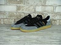 Мужские кроссовки Adidas Spezial Grey Black