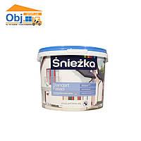 Краска Sniezka Standart Fasad краска фасадная Снежка стандарт фасад (4,2кг/3л)