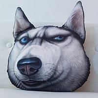 Подушка животное 3D собака
