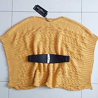 Кардиган-кофта(жёлтый цвет) без пояса.