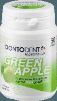Жевательные подушечки Dontodent Green Apple, 50 шт.
