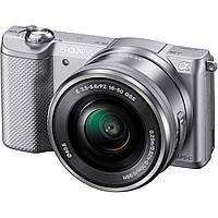 Фотоаппарат Sony A5000 kit 16-50 silver, фото 1