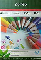 Фотобумага Perfeo A4 110 гр/м2 (100 листов) глянцевая