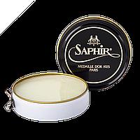 Паста-крем Saphir Medaille D'or для обуви Pate De Luxe 50 мл., Бесцветная
