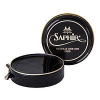 Паста-крем Saphir Medaille D'or для обуви Pate De Luxe 50 мл., Черная
