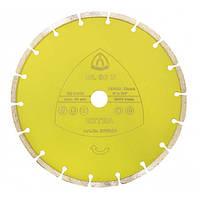Klingspor Круг алмазний відрізний DL 60 U 125х10х2х7х22 Extra цегла, бетон Код:08520   Артикул:227937