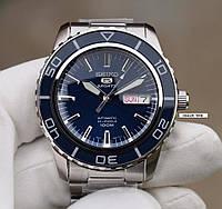 Часы Seiko 5 SNZH53K1 Automatic Blue Dial, фото 1