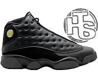 Мужские кроссовки Air Jordan 13 XIII Black 414571-011