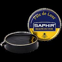 Паста Saphir для обуви Pate De Luxe 50 мл., Черная