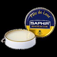 Паста Saphir для обуви Pate De Luxe 50 мл., Бесцветная