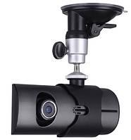 Автомобильный видеорегистратор Vehicle R300 c GPS навигатором на 2 камеры