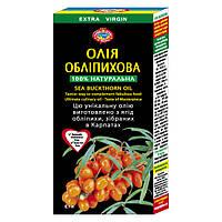 Масло Облепиховое 0,1л целебное и ранозаживляющее масло