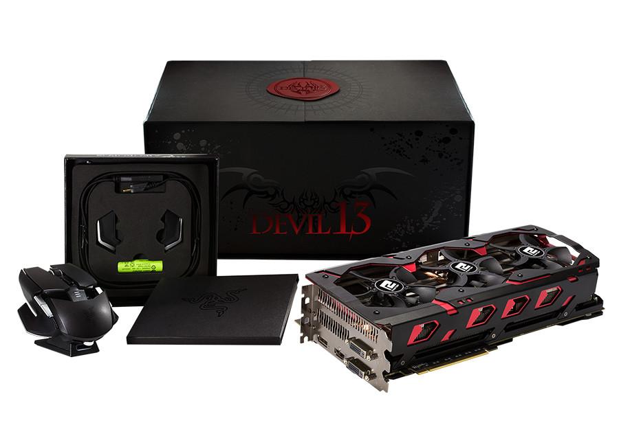 "Видеокарта PowerColor Devil 13 Dual core R9 390 16GB GDDR5 ""Over-Stock"" Б\У"
