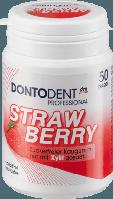 Жевательные подушечки Dontodent Strawberry, 50 шт.