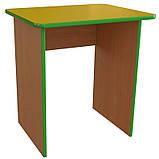 Стол детский одноместный из ДСП. Столы для детских садов, фото 4