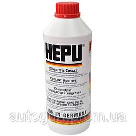Hepu Антифриз концентрат красный (1,5 л.)