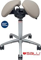 Стул седло Salli TripleFit с обивкой из натуральной кожи - бюджетный аналог дорогой модели Multiadjuster