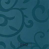 Пластик 0142 Синие полуматовые цветы