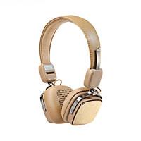 Bluetooth-навушники Remax RB-200H - коричнивые, фото 1