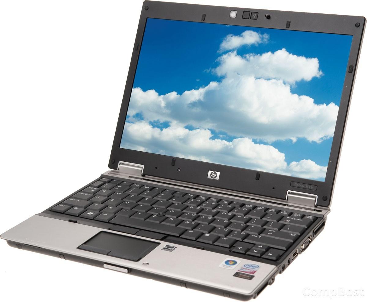 "НР EliteBook 2540p / 12.1"" / Intel Core i5-540M (2.53 ГГц) / 4 ГБ  DDR3 / HDD 160 ГБ / Intel GMA 5700M HD / веб-камера / Windows 7"