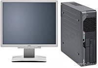Fujitsu Esprimo e5730 / Intel Pentium Dual-Core E5400 (2 ядра по 2.7GHz) / 4GB RAM / 160GB HDD + монитор Fujitsu B19-6 / 19' / 1280x1024