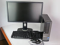 Dell Optiplex 390 SFF / Intel Pentium G630 (2 ядра по 2.7GHz) / 4GB RAM / 250GB HDD + монитор / 22' / 1680x1050 + клавиатура и мышка