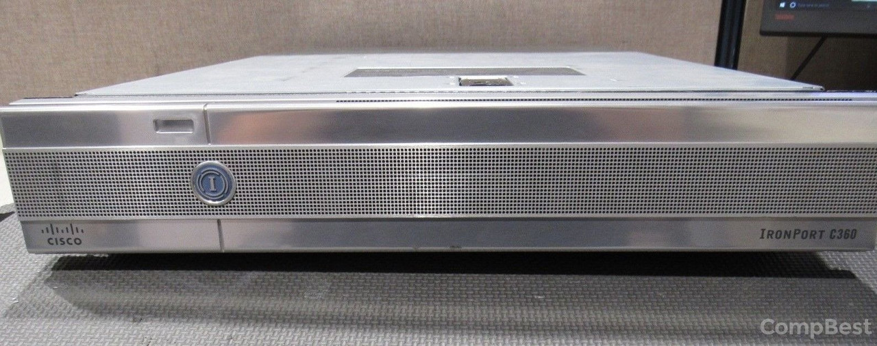 "Сервер CISCO IRONPORT C360 / Intel Xeon CPU E5410 / 4096 MB / 600 GB HDD (2*300 GB SAS 3.5"" 15000 RPM)"