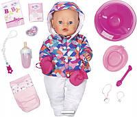 Кукла пупс Baby Born Беби Борн Зимняя красавица НОВИНКА 2017 Exklusiv Babypupp Zapf Creation 823200