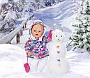 Кукла пупс Baby Born Беби Борн Зимняя красавица  Exklusiv Babypupp Zapf Creation 823200, фото 3