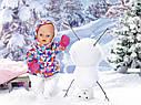 Кукла пупс Baby Born Беби Борн Зимняя красавица  Exklusiv Babypupp Zapf Creation 823200, фото 4