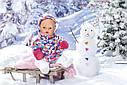 Кукла пупс Baby Born Беби Борн Зимняя красавица  Exklusiv Babypupp Zapf Creation 823200, фото 5