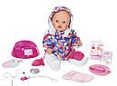 Кукла пупс Baby Born Беби Борн Зимняя красавица  Exklusiv Babypupp Zapf Creation 823200, фото 2