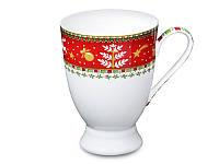 """Фарфоровая кружка """"Новогодняя коллекция"""" 300 мл 586-331. Новогодние подарки"""