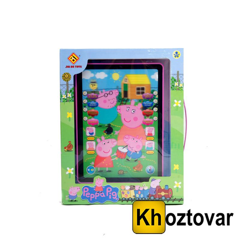 """Детский планшет """"Свинка Пеппа"""" Jia Du Toys 3883Н2"""