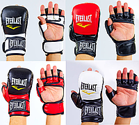 Перчатки для единоборств MMA PU EVERLAST (р-р S-XL)