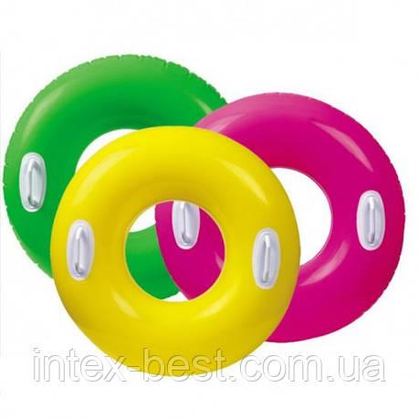 Надувной круг Intex 59258P (Розовый), фото 2